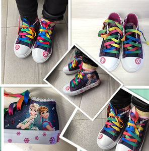 Kids Elsa Anna Shoes