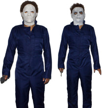 Load image into Gallery viewer, Adult Men Michael Myers Costume Cosplay Killer Jumpsuit Halloween Costume