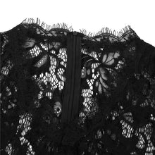 Load image into Gallery viewer, Sheer Lace Playsuit