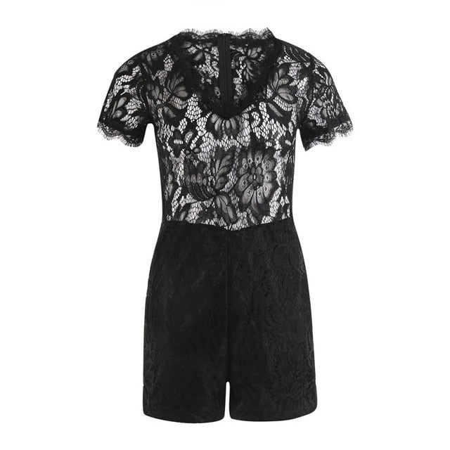 Sheer Lace Playsuit
