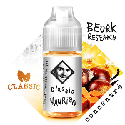Concentré Classic Vaurien - Beurk Research 30ml
