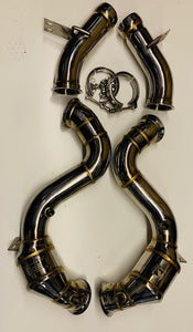 MERCEDES - GT63 / GT63s Downpipe - M177 - De-cat - Exhaust