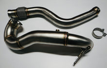 "Load image into Gallery viewer, MERCEDES - A45 / CLA45 / GLA45 AMG – 4"" > 3"" DOWNPIPE / DE-CAT"