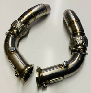 "BMW - F10 M5 / M6 - 3"" Downpipe Decats"