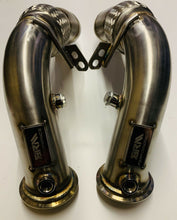 "Load image into Gallery viewer, BMW - F10 M5 / M6 - 3"" Downpipe Decats"
