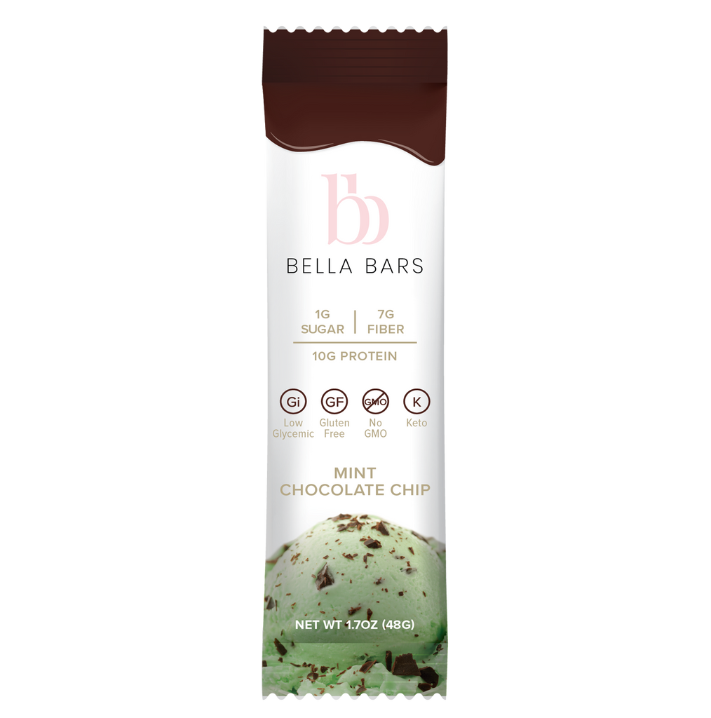 Bella Bars - Mint Chocolate Chip
