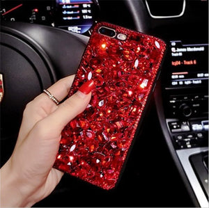 Shiny full diamond phone case