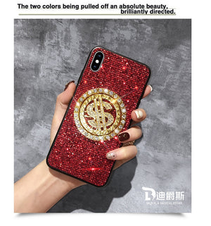 Rotating Luxury Bling Sequins Phone Case