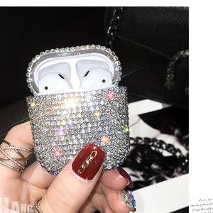 Imitation Diamond Plating Earphone Case