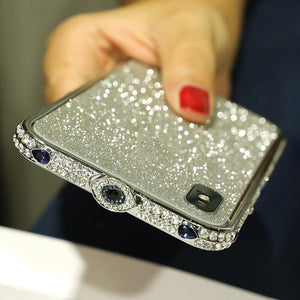 Devil's Eye Border Imitation Diamond Phone Case