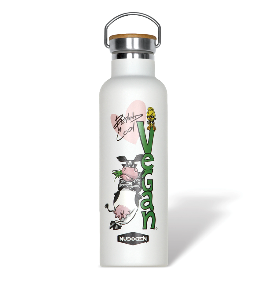 Stainless Steel Water Bottle | Vegan Lover Beyond Cool