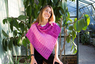 Garden Trellis Shawl kit