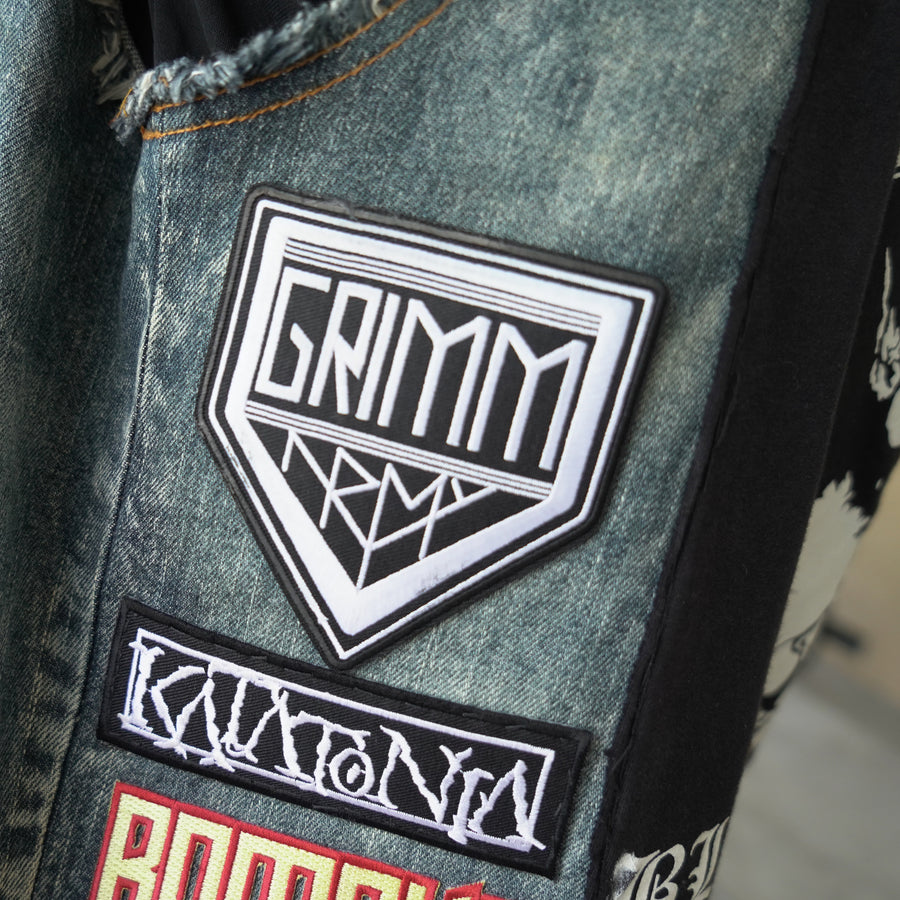GrimmArmy Embroidered Iron-On Patch