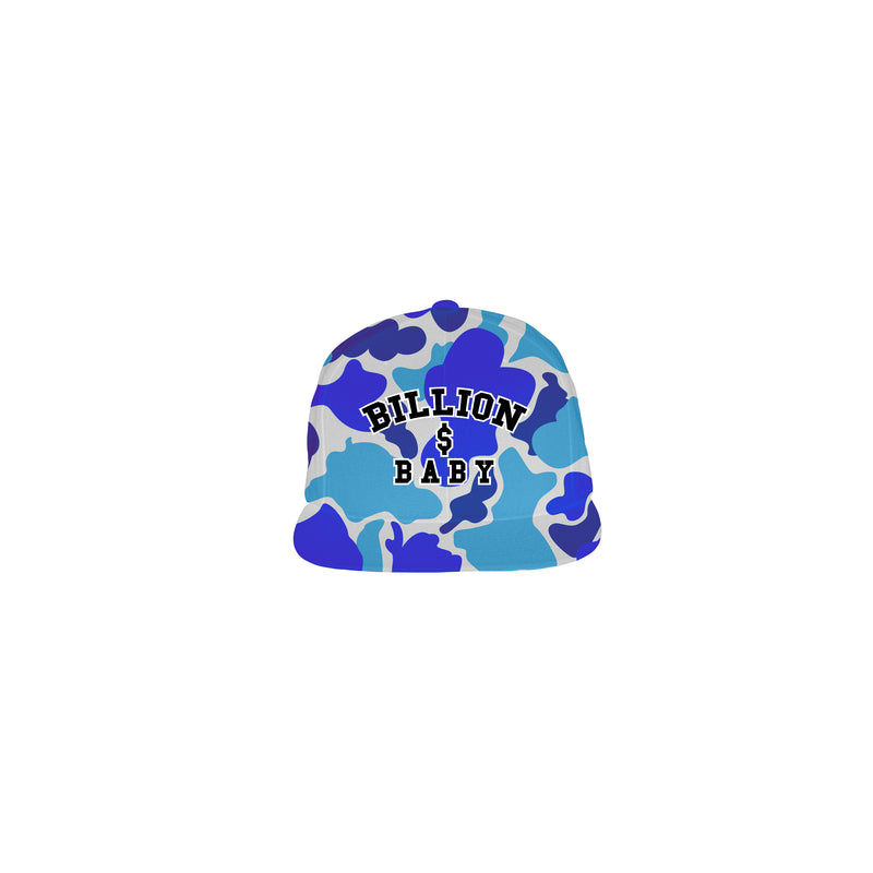 Blueberry Camo Hat - Blueberry