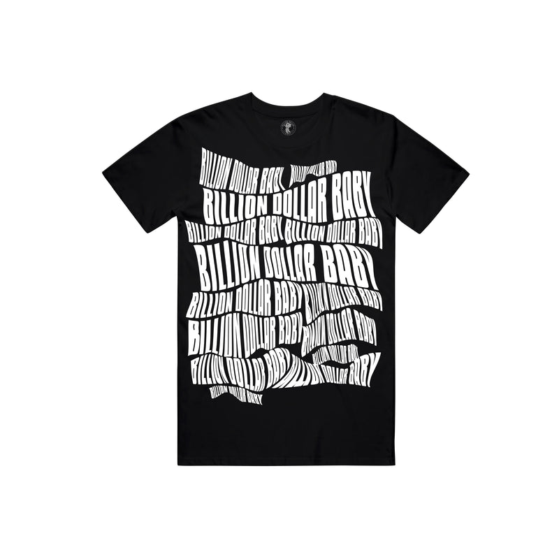 BDB Logo White T-shirt - Black
