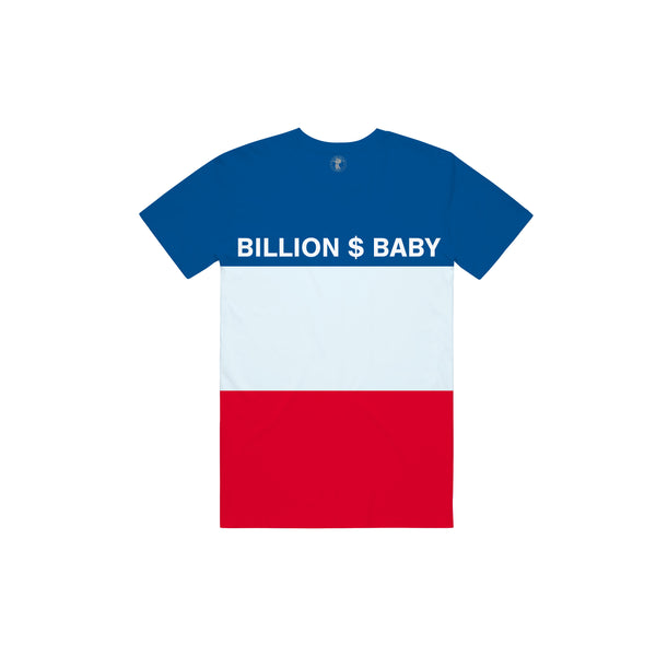 Tri-Color T-shirt - Red White Blue