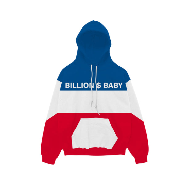 Tri-Color Hoody - Red White Blue