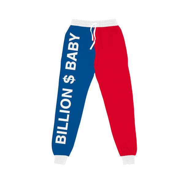 Tri-Color Joggers - Red White Blue