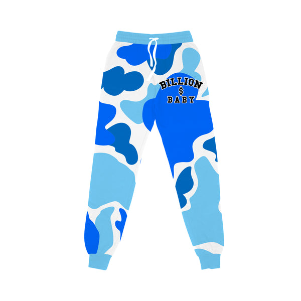 Blueberry Camo Joggers - Blueberry