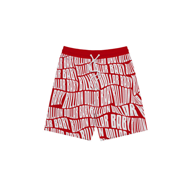 AOP Shorts - Red