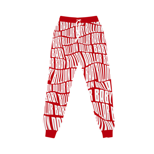 AOP Joggers - Red