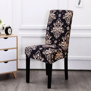 Stretch Removable Washable Dining Chair Covers|Decoration Chair slipcovers|Seat Protector Slipcover|17 Colors