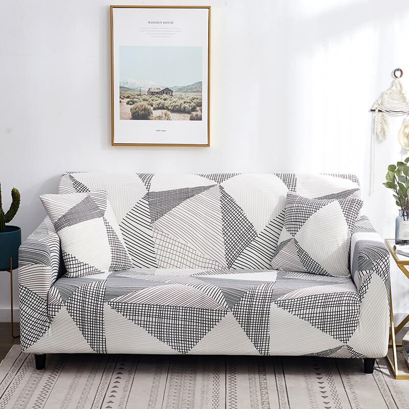 Couch Covers|Stretchable Resistant Printed Sofa Slipcovers
