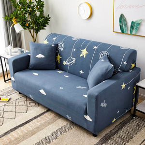 3-Seater Sofa Slipcover Stretch Protector Soft Couch Bed Cover Washable #4