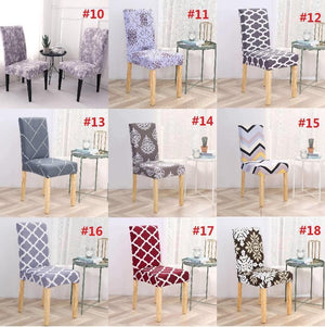Stretch Washable Dining Room Chair Covers|18 Colors
