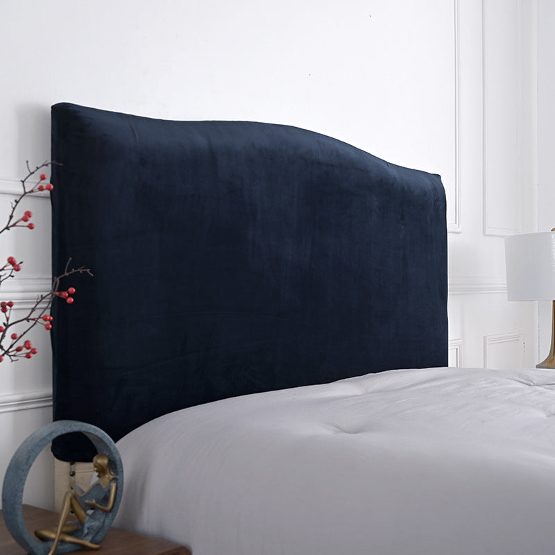 Velvet Bed Headboard Cover