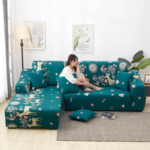 Stretch Washable Removable Couch Covers|Spandex Sofa Covers|Sofa Slipcovers|Furniture Protector from Pet for Living Room