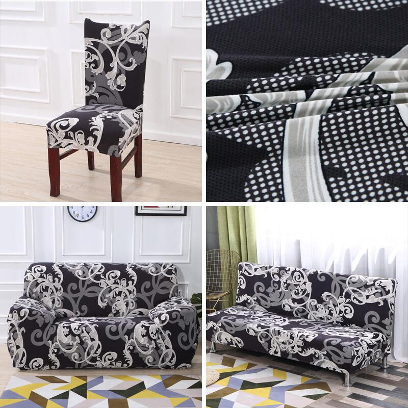 Stretchable Spandex Couch Covers &Chair Covers Decor,Universal Miracle Elastic Sofa Covers Pillow Covers