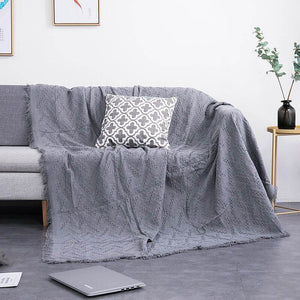 Geometrical Sofa Covers Throw Blankets,Couch Furniture Cover for Living Room