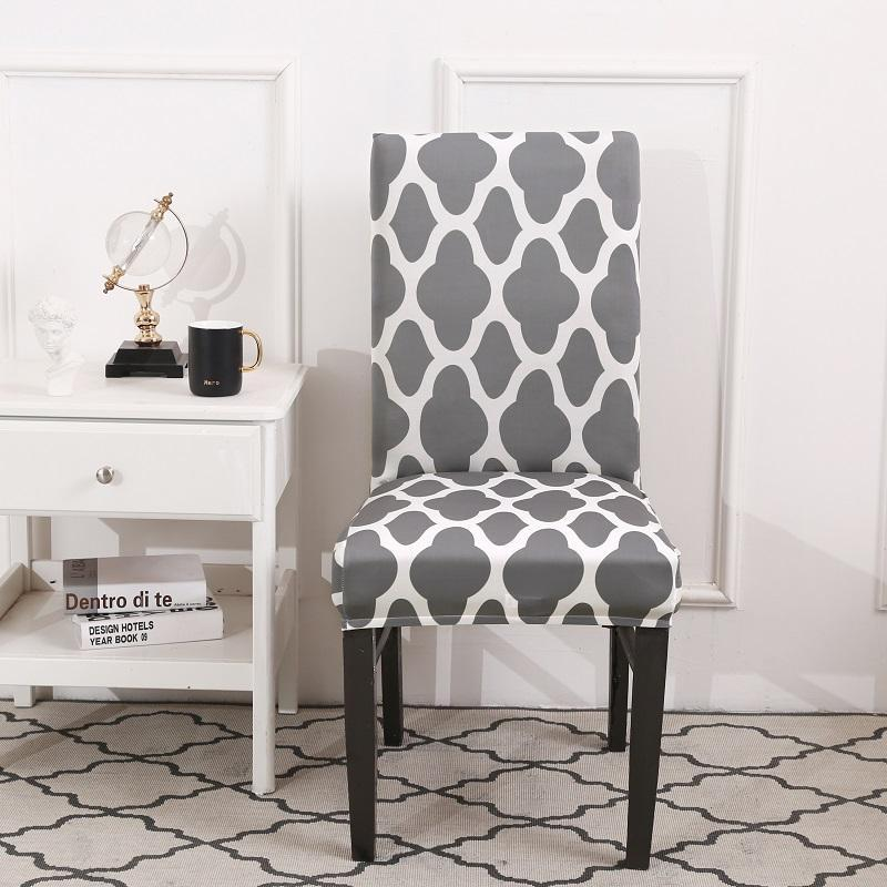 Stretch Washable Removable Dining Room Chair Covers Decoration