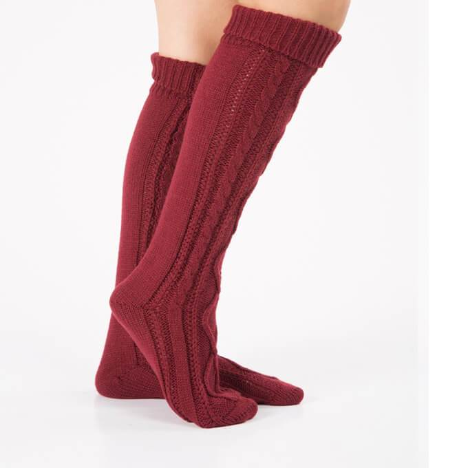 Knitted Over Knee High Socks