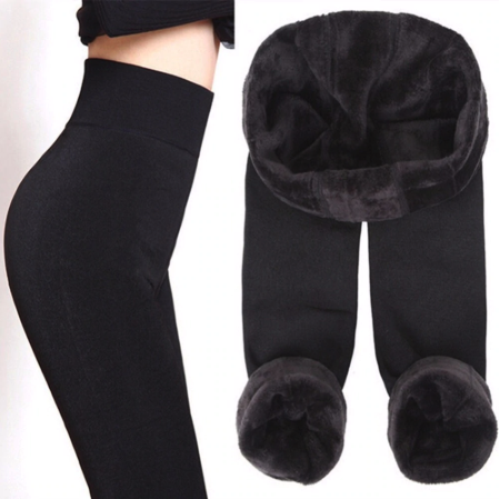 Women's Fleece Lined Leggings|Thick, Stretch ,Warming Winter Legging Pants