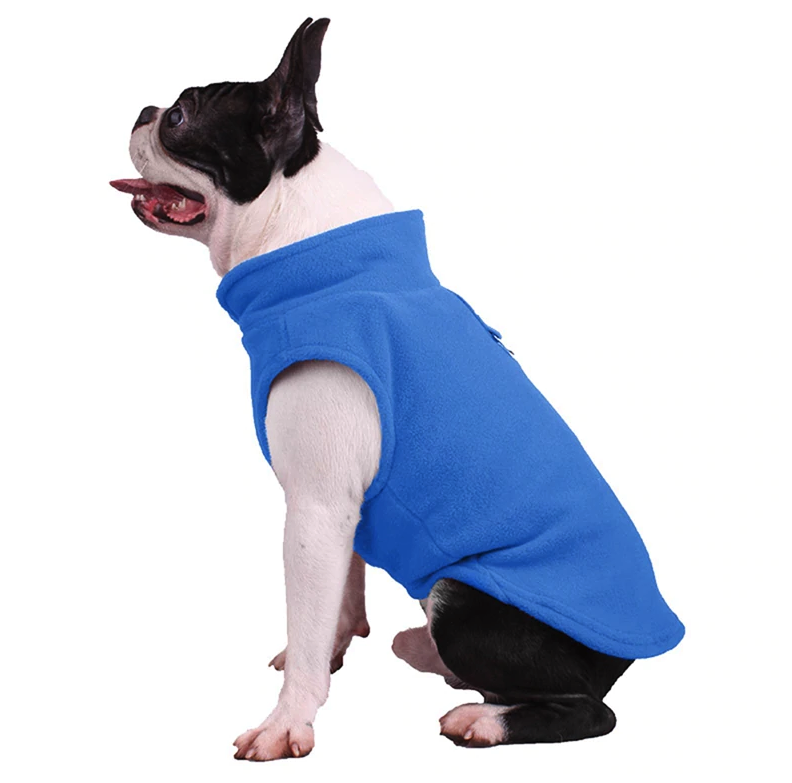 Fleece Dog Jacket |  Winter Coat for Dogs
