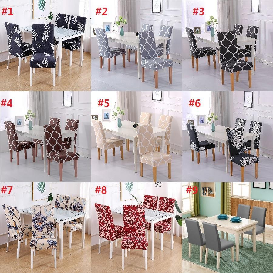Stretch Dining Chair Covers| Removable Washable Short Dining Chair slipcovers for Hotel,Dining Room,Ceremony,Banquet Wedding Party