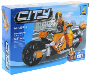 City Motorcycle- 118 Pieces