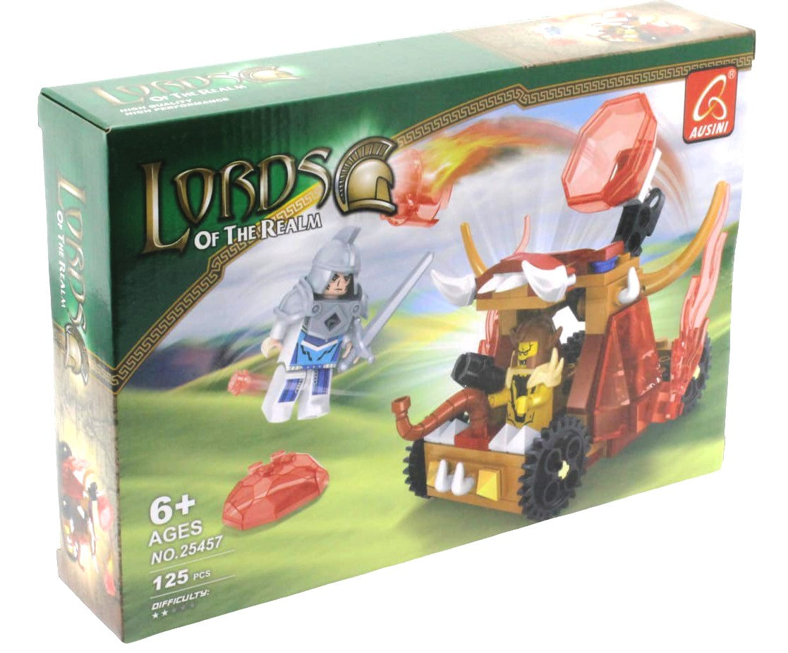 Lords Of The Realm Catapult War- 125 Pieces