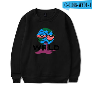 Juice Wrld Hip Hop Rapper Same Paragraph Hoodie Men Fashion Long-sleeved Hoodies Sweatshirt New Hot Trend Casual Wear