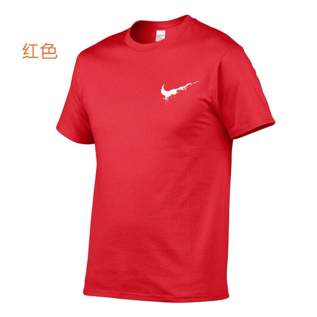 2020 summer t shirt men letter print O-Neck t shirts Casual brand-clothing men's streetwear Hombres top t-shirt Plus Size S-XXL