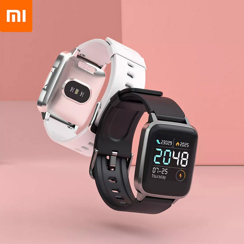 Xiaomi LS01 Smart Watch Heart Rate Sleep Monitor Sport Fitness Tracker Bluetooth Smartwatch for Android iPhone Waterproof