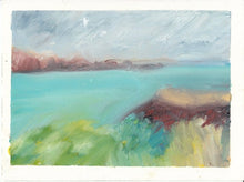 Load image into Gallery viewer, Menorca Seascape in Oil Sticks