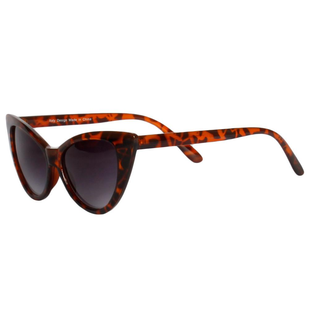Cat Eye Sunglasses Tortoise - The Atomic Boutique