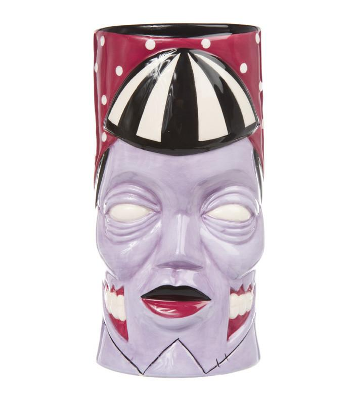 Sourpuss Aloha Zombie Tiki Mug - The Atomic Boutique  - 1