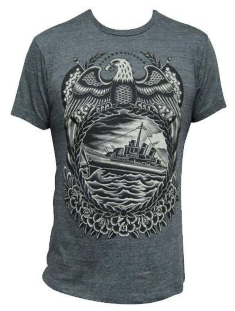 Black Market Art Company Battleship Mens Tee - The Atomic Boutique