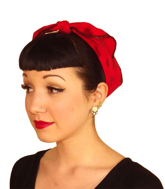 Mickey Ears Fabric Head Wrap Scarf - The Atomic Boutique  - 1