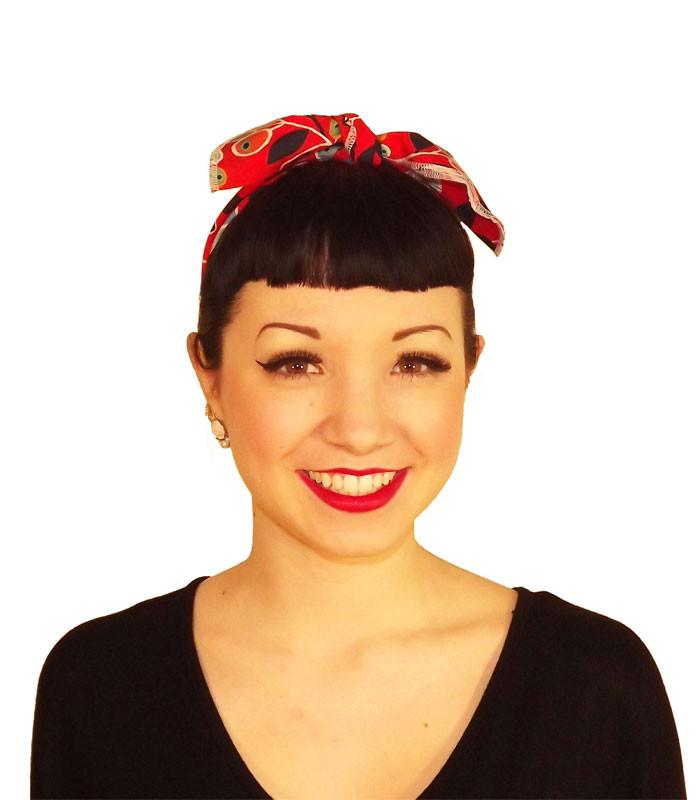Mickey Ears Fabric Head Wrap Scarf - The Atomic Boutique  - 3
