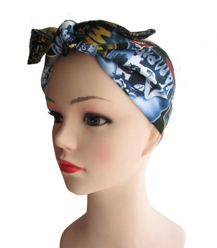 Zombie Horror Fabric Head Wrap Scarf - The Atomic Boutique  - 1
